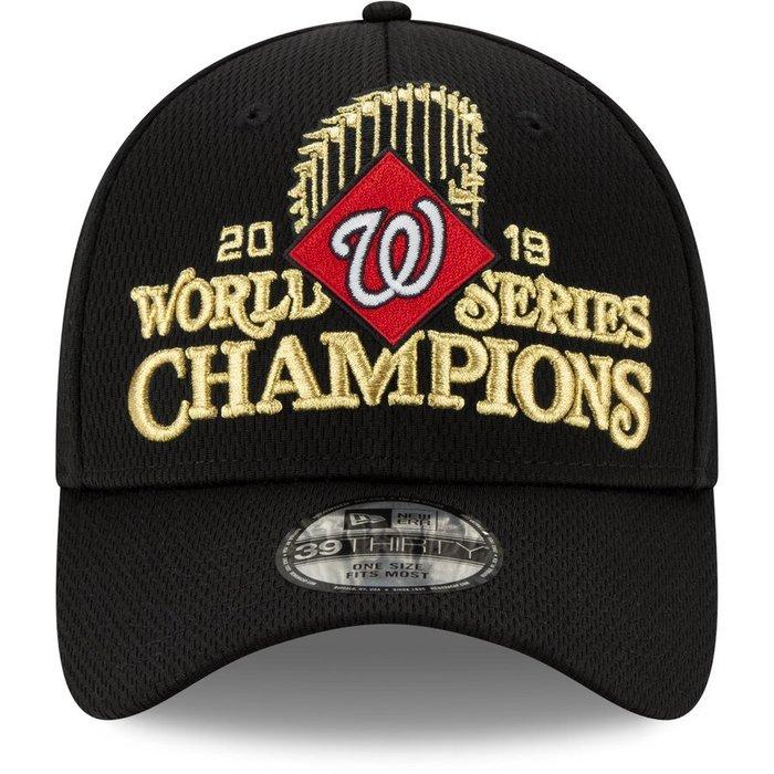 Washington Nationals New Era 39THIRTY Flex Hat 2019世界賽國民隊冠軍帽