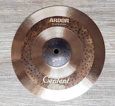 *雅典樂器世界* 極品 Centent ARDOR 10吋 Splash專業級 手工銅鈸 Zildjian K 同級