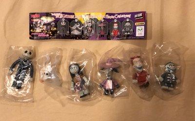 Yujin Disney 迪士尼 聖誕夜驚魂 轉蛋 扭蛋 積木 全6種 現貨