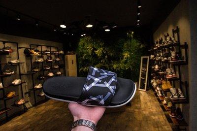 【線上販殼】Adidas Swim Adilette CF+campus 柔軟 沙灘鞋 幾何 拖鞋