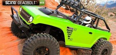 RCBS  攀岩車 AX90044 SCX10™ Deadbolt™ 1/10th 4WD 有影片