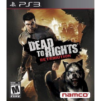 全新未拆 PS3 絕命戰警 -英文美版- Dead to Rights Retribution