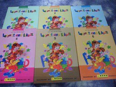 【彩虹小館】H6童書~Learn IT and LikeIt (BOOK1~6+作業簿1~6)~喬登美語~共12本