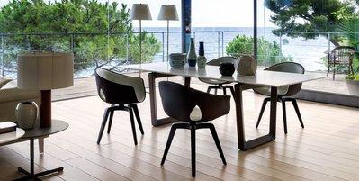 [米蘭諾家具]複刻Poltronafrau Ginger 餐椅 ASH梣木實木 書椅 扶手餐椅 台灣製造