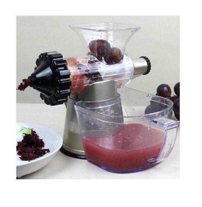 【格倫雅】^Lexen手動榨汁機 原汁機手搖蔬菜水果汁機嬰兒榨汁器出口小麥草機3787