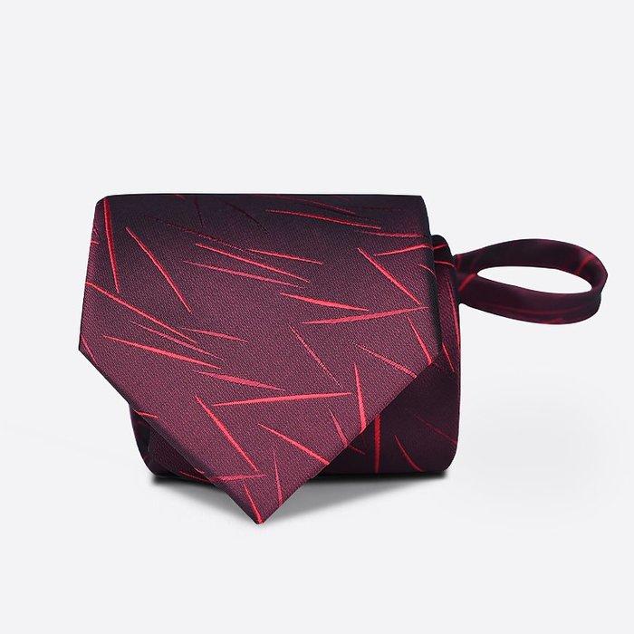 奇奇店-熱賣款 kaidvll領帶 酒紅色不規則紋路領帶 正裝商務結婚領帶新郎禮盒裝
