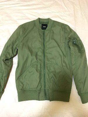 ASOS 軍綠 bomber ma-1 jacket size:xs