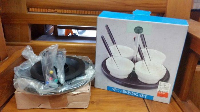 宏品二手傢俱館~家具拍賣~X5-1227-5全新手提4件調味盤*小家電.廚房器具.鍋碗瓢盆.各式器具大特價*