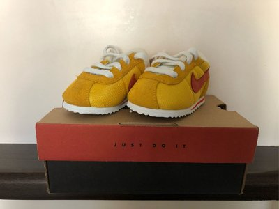 Nike Baby Cortez 2c Yellow / Orange color