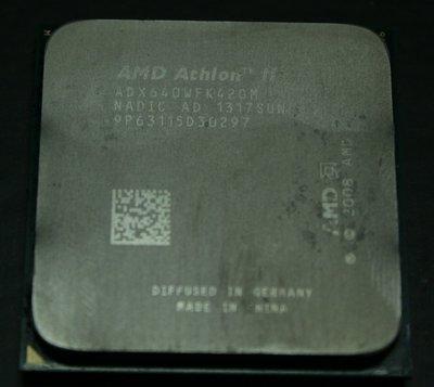 AMD X4-640 CPU