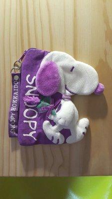 北海道 Snoopy化妝包 置物袋(購於日本北海道)