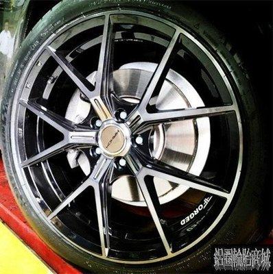 全新鋁圈 經銷 MAHOM MF01 19吋旋壓鋁圈 亮黑+黑透 5/112 5/114.3 5/120 A6 實裝圖