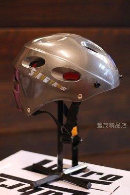 SY 商楊 610 - 洞洞款 單車用 電動車用 半罩 雪帽 半頂式 瓜皮帽 雪帽 安全帽 -鐵灰 『豐茂』