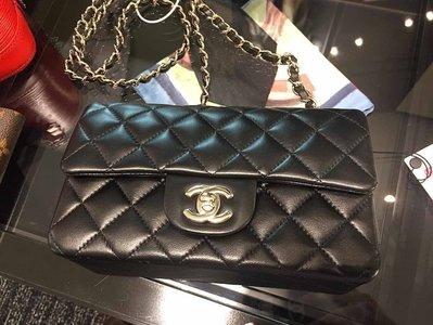 【代購】Chanel 羊皮 mini coco 20cm