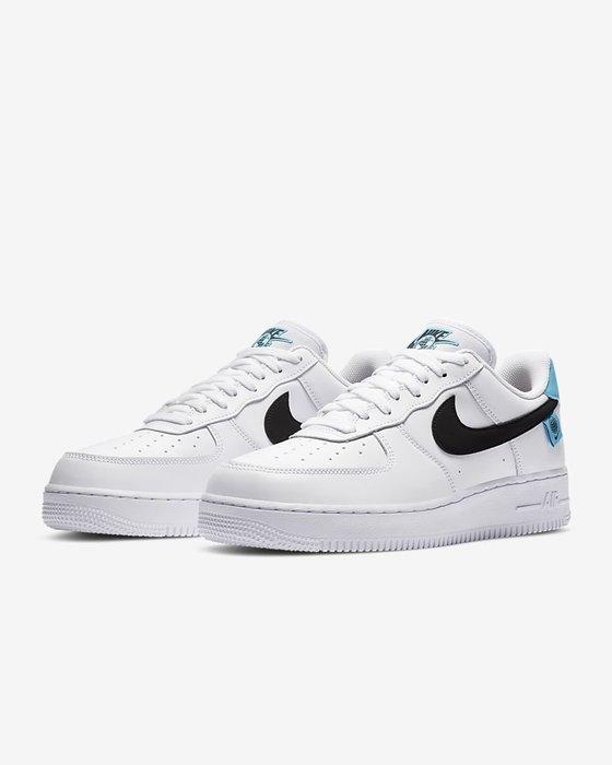 【Luxury】Nike Air Force 1 '07 SE 空軍一號 童鞋 親子鞋 大童 小童 AF1 粉白 藍白