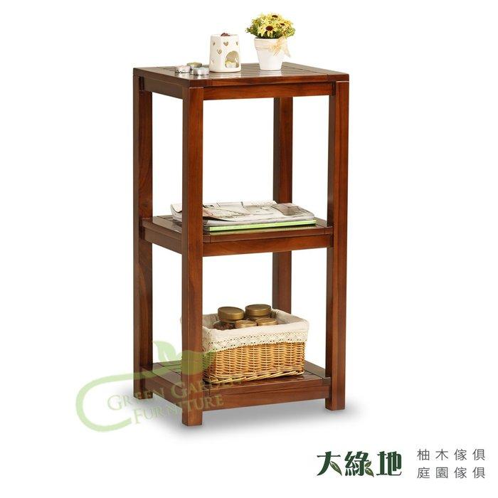約克 柚木雙層置物櫃-S(經典)【大綠地家具】100%印尼柚木實木/經典柚木/實木層架/多功能/免組裝