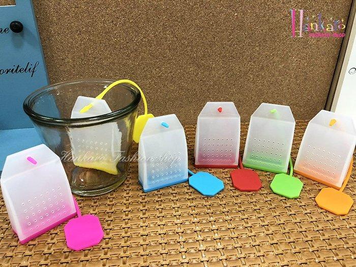 ☆[Hankaro]☆ 創意趣味矽膠茶包造型沖茶器
