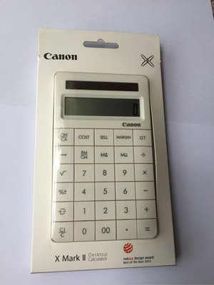 Canon Calculator X Mark II