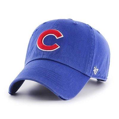 【血拼妞】 47 BRAND CHICAGO CUBS RIDGE 芝加哥小熊 棒球帽 老帽 寶藍色《預購》