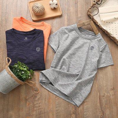 【Mr. Soar】 A292 夏季新款 歐美style童裝男童速乾短袖T恤 中大童 現貨
