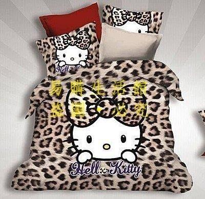 [王哥廠家直销]K款 KT kitty 雙人床件組 床包組(被套/枕頭套/床包)-1.5MLeGou_3078_3078