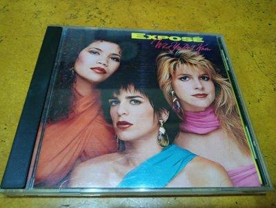 西洋CD《 Expose - What You Don't Know 》美版、早期舊版無IFPI