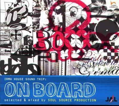 八八 - ON BOARD selected & mixed by SOUL SOURCE PRO - 日版