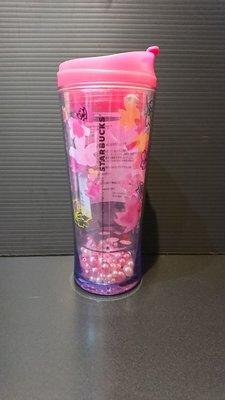 日本星巴克杯子代購2015年櫻花季 珍珠隨行杯 日本隱藏版上市