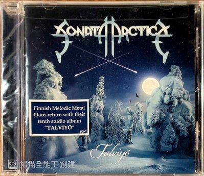【搖滾帝國】芬蘭力量(Power)金屬樂團SONATA ARCTICA Talviyo 2019發行 全新進口專輯