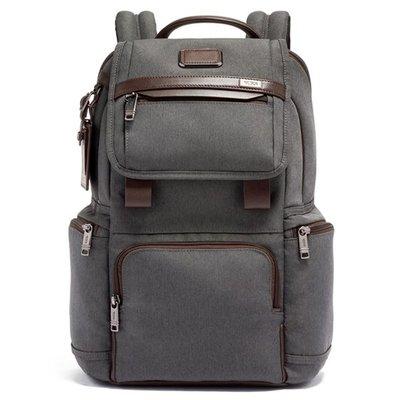 正品新款原廠 TUMI/途米 JK453 男女款 休閒商務電腦後背包  時尚雙肩背包 健身運動旅行背包 彈導尼龍配真皮