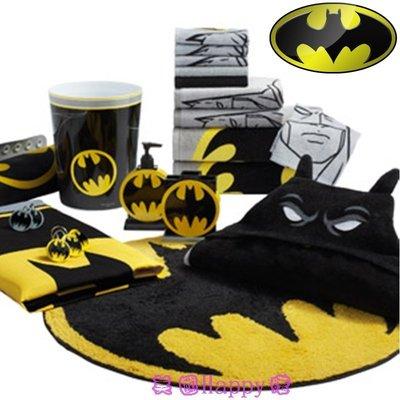 現貨 ☆ ╮美國Happy購╭☆DC Comic Batman 蝙蝠俠 Logo 圓形腳踏墊/ 地墊 台北市