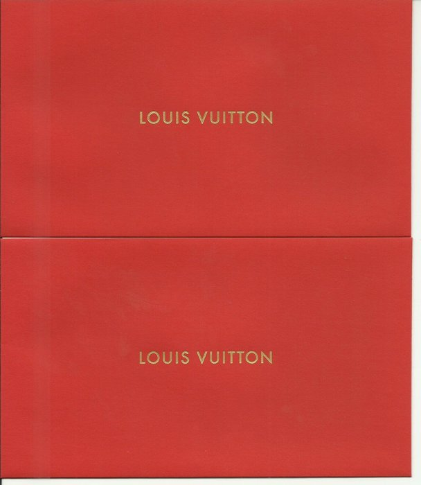 LOUIS VUITTION 紅包袋二只_全新品_樣式1
