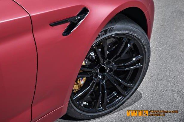 類BMW G30 M5 2018 新款 M-power 選配式樣 20吋 5孔112/120 前後配 黑色