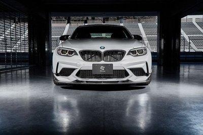 ✽顯閣商行✽日本 3D design BMW F87 M2 Competition 碳纖維前下巴 碳纖維前下擾流