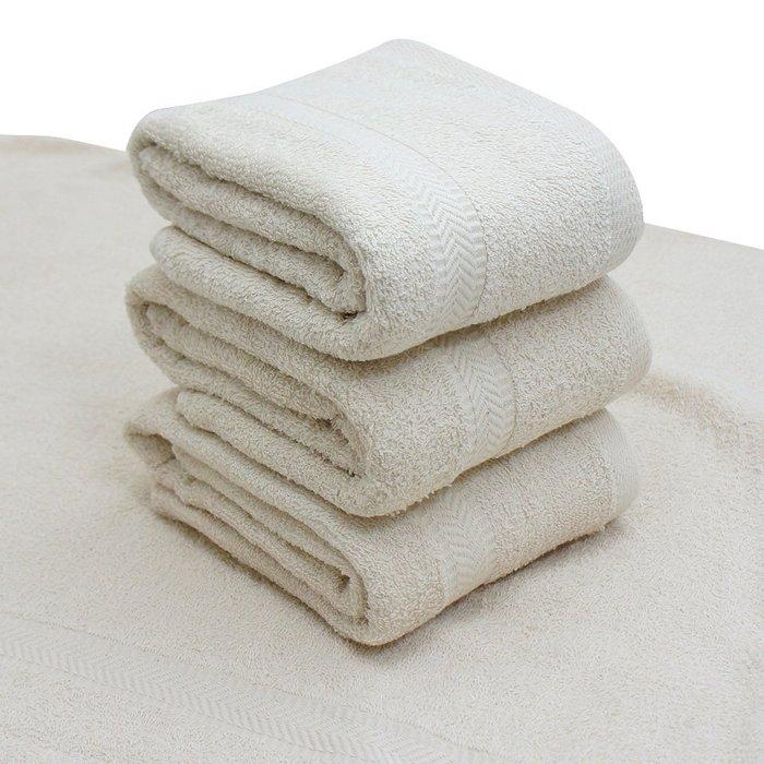 【TELITA】嚴選素色無染浴巾(超值4條組)免運
