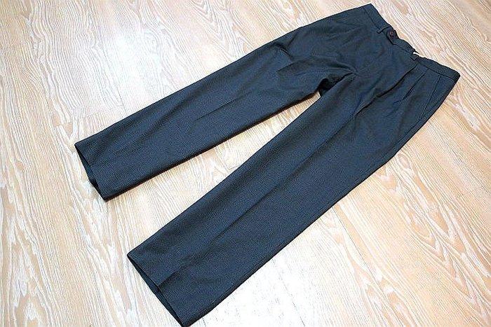 *Beauty*GIVENCHY男士格紋灰藍色西裝褲 4000元GR