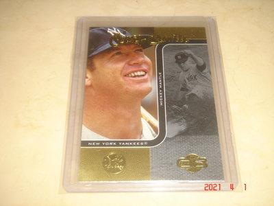 美國職棒 Yankees Mickey Mantle 2006 Topps Co-Signers #7 球員卡