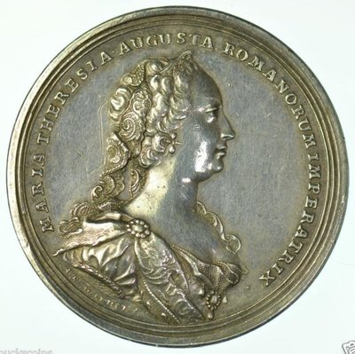 1745 奧地利 Austria Maria Theresia War of Succession Medal
