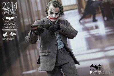 【全新現貨免運費】HOT TOYS MMS249 野獸國 2014 年度展 限定 黑暗騎士 小丑 (搶匪版2.0)