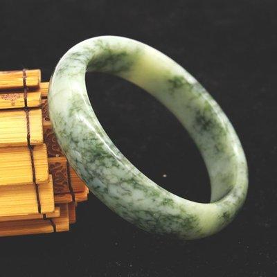 天然 岫玉手鐲黃玉手鐲 蛇紋石質玉女玉朝鮮金黃手鐲A貨正品