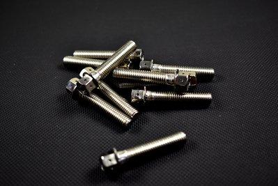 皮斯摩特 ZOO 白鐵螺絲 內外六角 白鐵 螺絲 M8X40 單支100