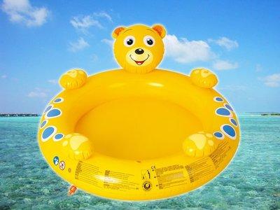 treewalkerஐ美麗讚 ஐ092023生日  立體熊頭 充氣安全泳池 水池 洗澡盆噴水 NG001~002