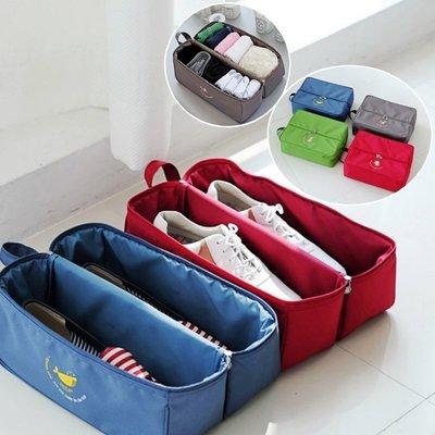 Lovus-韓款一加一多功能手提防水內衣鞋子收納袋 旅行袋(單件)
