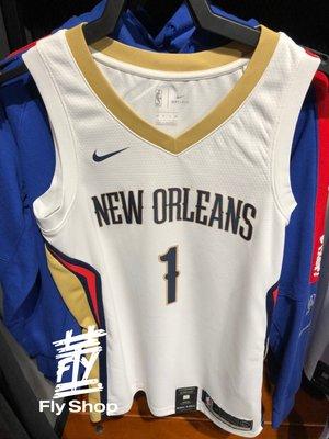 [飛董] NIKE NBA 紐奧良鵜鶘 Zion Williamson #1 胖虎  球迷版 球衣 864433-103