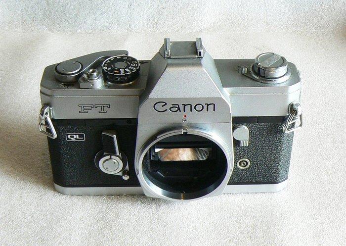【悠悠山河】Canon 1960代表作 坦克機 全機械底片單眼相機--Canon TL 銀黑機 無碰撞無凹痕乾淨漂亮美機