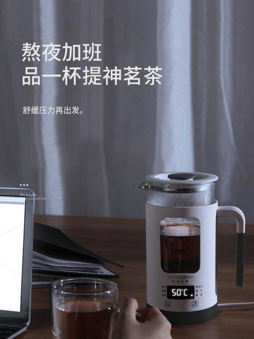 養生壺迷你小容量多功能玻璃煮花茶杯煮茶器電熱燒水壺 NMS 黛尼时尚精品