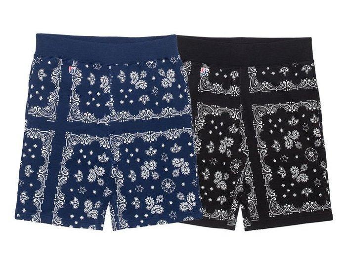 【 超搶手 】全新正品 2014 秋季 UNDEFEATED BANDANA SWEATSHORT 方巾 變形蟲  短褲