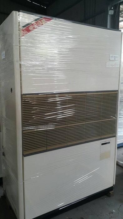 (大台北)中古東元10RT水冷箱型機3φ220V(編號:TE1060811)冷氣空調維修保養廠房拆除回收買賣*