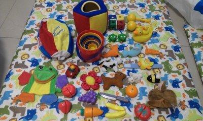 寰宇迪士尼美語 World Family 二手 play along 玩具