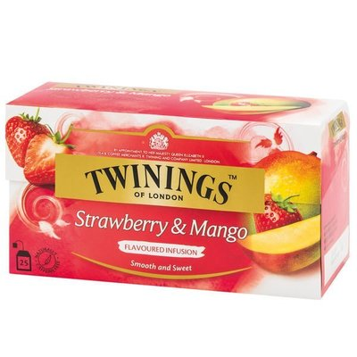 ~*萊康精品*~ 唐寧茶【Twinings】草莓芒果茶(2gx25入茶包)